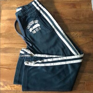 Abercrombie & Fitch men's track pants.